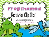 Frog Themed Behavior Management Clip Chart and Behavior Log