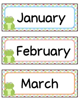 Frog Themed Birthday Board Pack