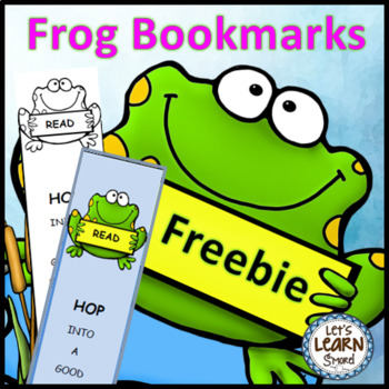 Frog Bookmarks (Free)