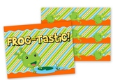 Frog Themed Bulletin Board Border and Poster