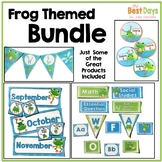 Frog Themed Classroom Decor Bundle