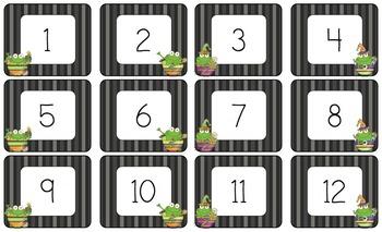 Frog Themed Calendar Kit