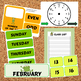 Bulletin Board - Calendar Materials (Theme - Frogs)