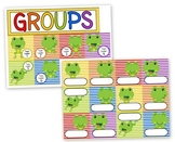 Frog Themed Center Grouping Cards
