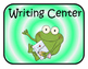 Frog Themed Center Signs