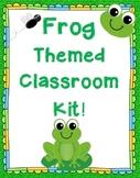 Frog Themed Class Decor Kit