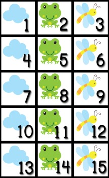 Frog Themed Classroom Calendar Set