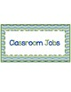 Frog Themed Classroom Jobs