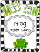 Frog Themed Classroom Pack