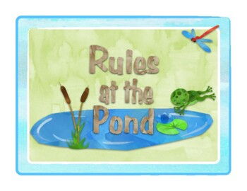 Frog Themed Classroom Rules