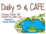 Frog Themed Daily 5 Routines and CAFE Poster Set!