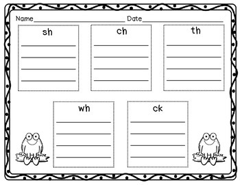 Frog Themed Digraph Sort