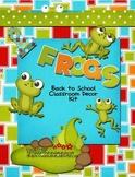Frog Themed Kit~classroom printables