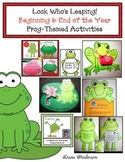 Frog-Themed Look Who's Leaping  Beginning and End of the Year Activities