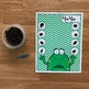 "Frog Themed Math Activities: ""Counting Raisin Bugs"""