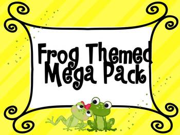 Frog Themed Mega Pack