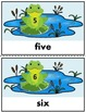 Frog Themed Number Posters 1-20