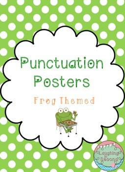 Frog Themed - Punctuation Posters