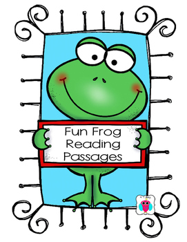 Frog Themed Reading Passages