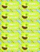 Frog Themed Seasonal Mini Notes
