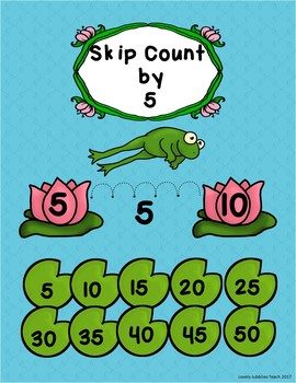 Frog Themed Skip Counting