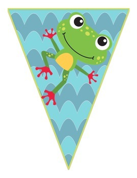 Frog Themed Welcome Banner