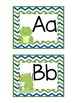 Frog Themed Word Wall Alphabet