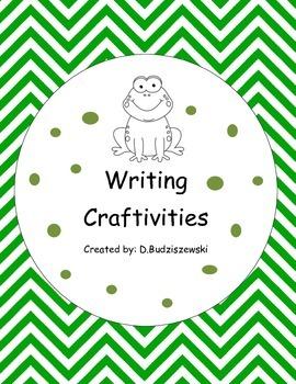 Frog Themed Writing Craftivities