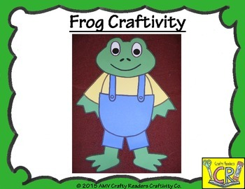 Frog/Toad Craftivity