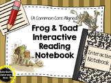 Frog & Toad Interactive Reading Notebook {Common Core Alligned}
