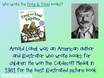 Frog & Toad Together Book Unit for Promethean Board
