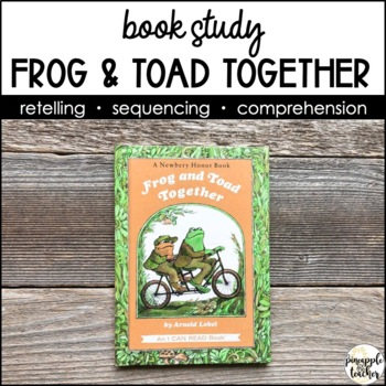 Frog & Toad Together: Common Core Aligned Supplementary Activities