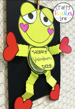 Frog Valentine Craft and Write