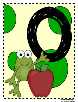 Frog Welcome Letter Signs