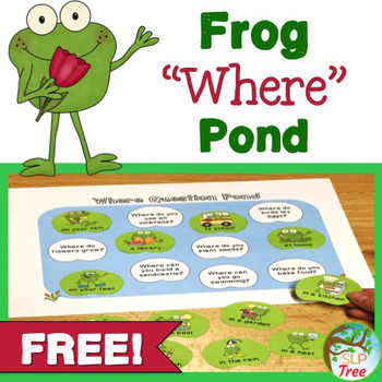 "Frog ""Where"" Questions Pond"