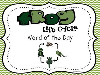 Frog Word of the Day