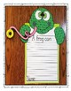 Frog Write Craft Unit