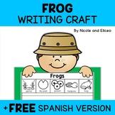 Frog Life Cycle Writing Craft Activity