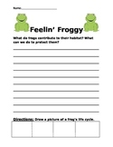 Frog Writing Prompt
