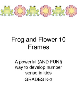 Frog and Flower 10 Frames Fun Spring Theme!