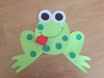 Frog and Fly Craft