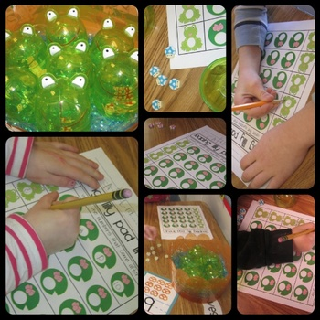 Frog and Lily Pad Number Ordering Counting Worksheet