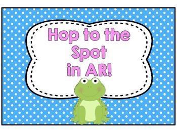 Frog and Polka Dots theme for AR wall