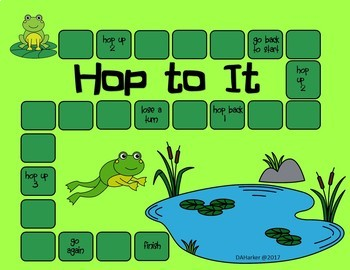 Frog and Pond Speech Therapy Printable Pack