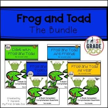 Frog and Toad Bundle - Reading Comprehension