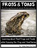 Frog and Toad | Science and Reading Activities