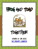 Frog and Toad Activities: Frog and Toad Together