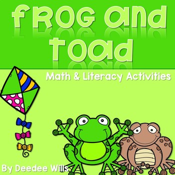 Frog and Toad Activities for Math and Literacy-CC Aligned