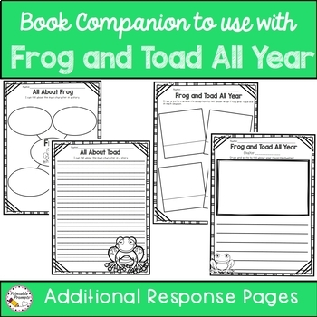 Frog and Toad All Year  {Book Study}
