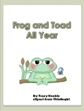 Frog and Toad All Year Activities for Storytown